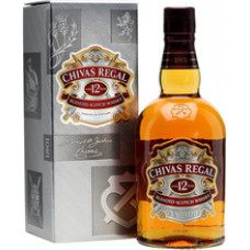 "Виски ""Chivas Regal"" 12 years old, with box, 0.7 л"