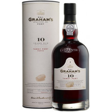 Портвейн Graham's, 10 Year Old Tawny Porto, in tube