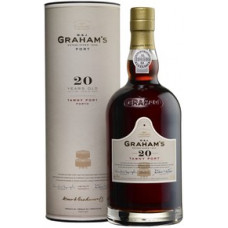 Портвейн Graham's 20 Year Old Tawny Port, gift tube